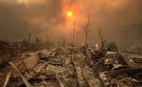 burnt ruin