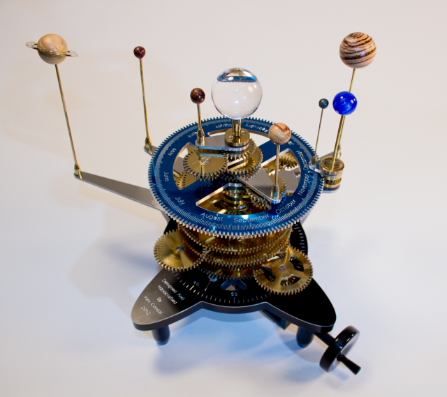 An orrery, rather old-fashioned.
